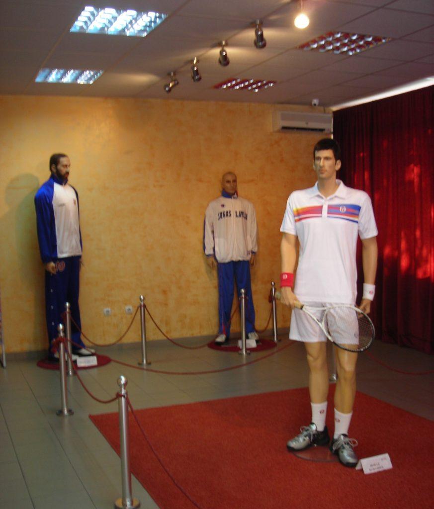 Novak Đoković, Vlade Divac, Aleksandar Đorđević