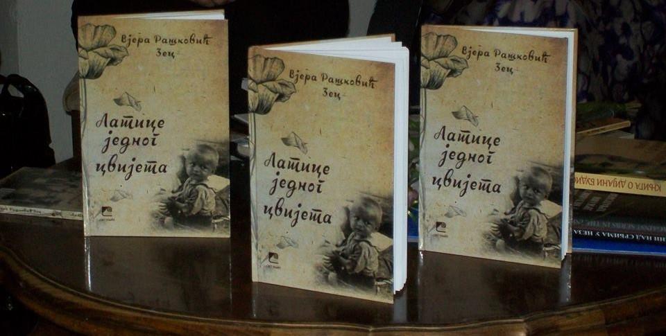 """Knjiga """"Latice jednog cvijeta"""" Dr Vjere Rašković Zec iz Beča"""