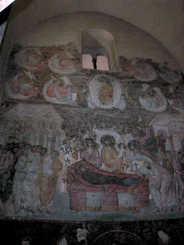 Najvrednija freska - Uspenje Presvete Bogorodice