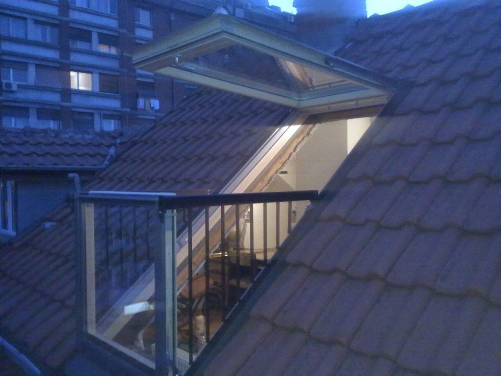 VELUX cabrio balkon