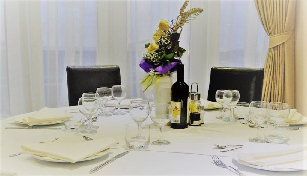 "Detalj iz restorana hotela ""018 IN"" u Nišu"